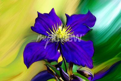 Fototapet Nadmorski Kwiat