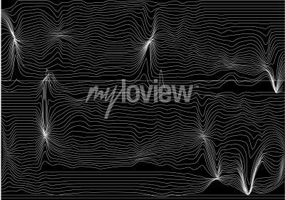 Fototapet vibration