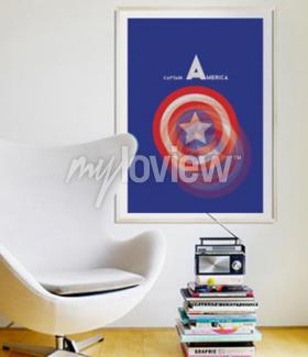 Fototapet Kapten Amerika