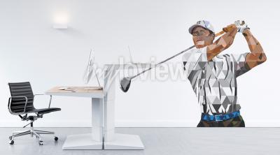 Fototapet Tiger Woods