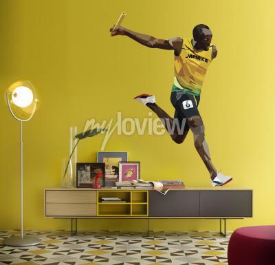 Fototapet Usain Bolt