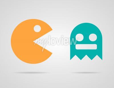 Affisch Pac Man