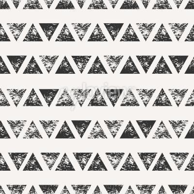 Fototapet Seamless mönster med stansade triangulära former