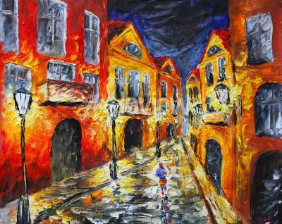 Canvastavlor moderna Impressionism