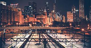 Städer på natten