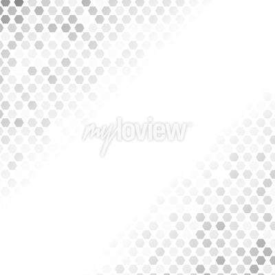 Väggdekor Abstrakt gråmönster