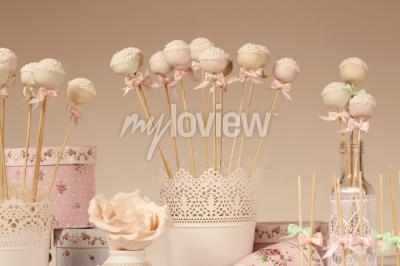 Fototapet Cake pops