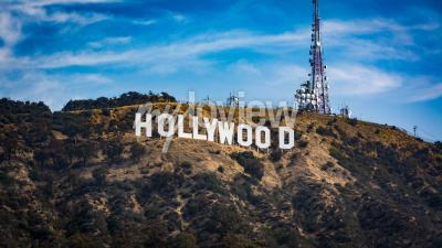 Affisch Hollywood sign Los angeles