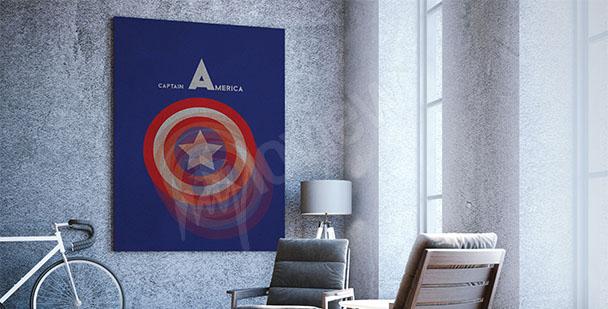 Affisch Captain America