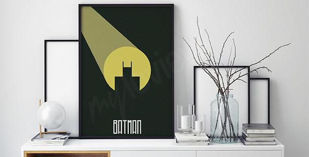 Affisch med Batman