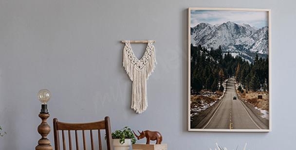 Affisch med berg i Colorado