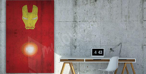 Affisch med Iron Man