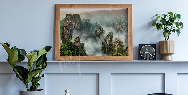 Affisch med Wilingyuan skog
