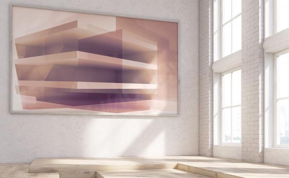 Canvastavla 3D till vardagsrummet