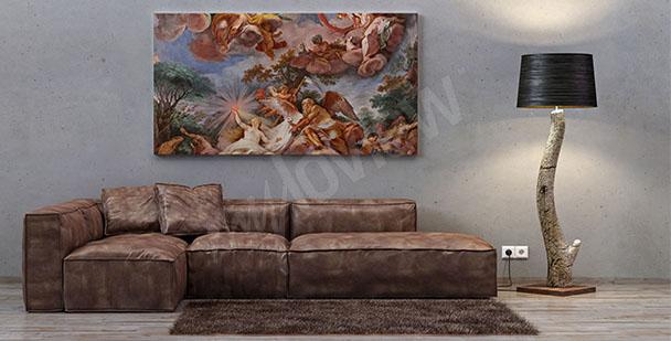 Canvastavla italiensk barock