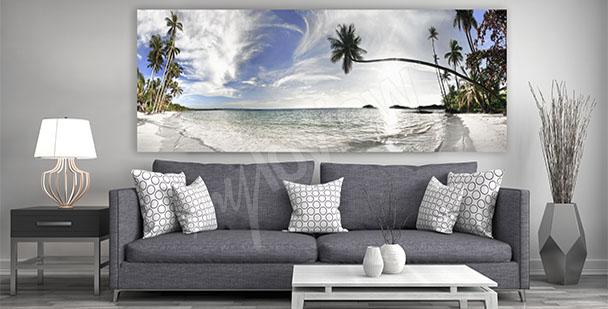 Canvastavla landskap vardagsrummet