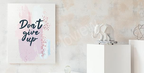Canvastavlor med ett tydligt budskap