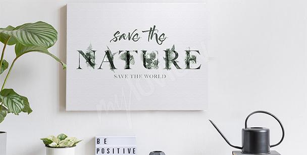 Canvastavlor med naturmotiv
