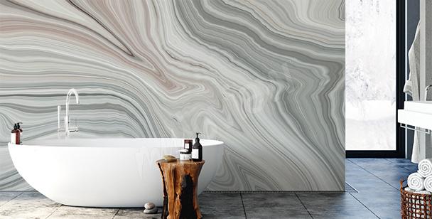 Dekorativ fototapet till badrummet
