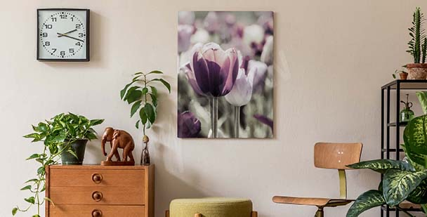 Floral tavla