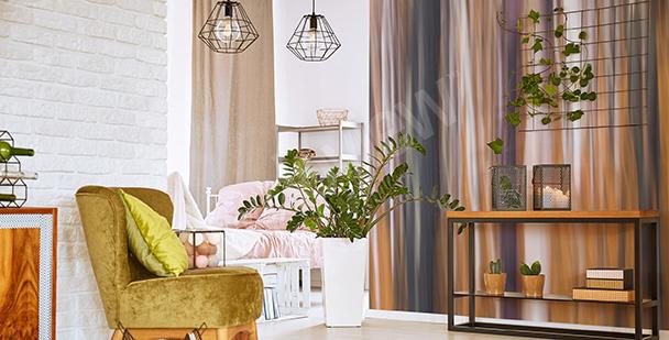 Fototapet abstraktion för vardagsrummet