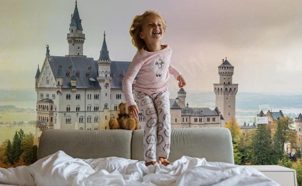 Fototapet Arkitektur - Slott i Tyskland