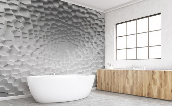 Fototapet för badrum 3d