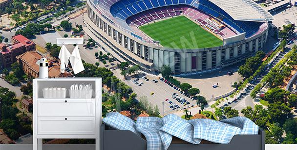 Fototapet fotbollsstadion