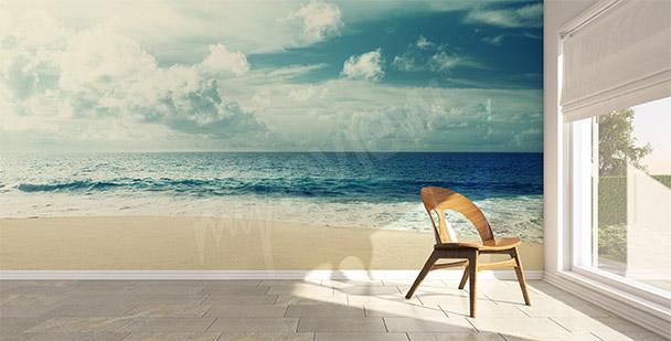 Fototapet hav strand