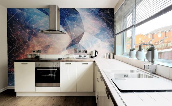 Fototapet i 3D till köket