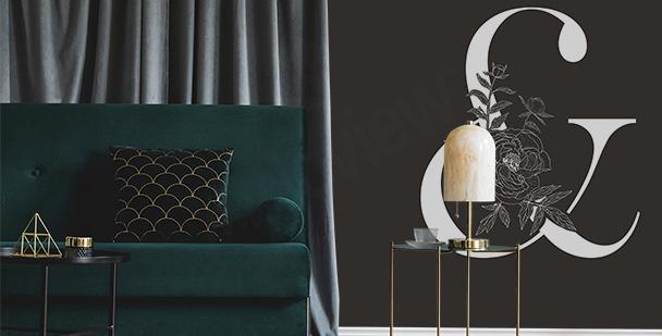 Fototapet i minimalistisk stil