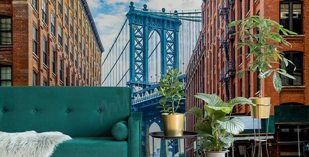 Fototapet Manhattan Bridge