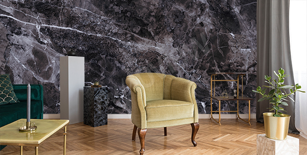 Fototapet marmor till vardagsrummet