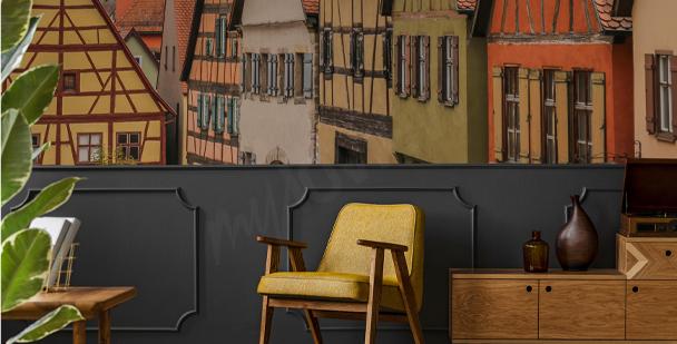 Fototapet med Bayersk arkitektur