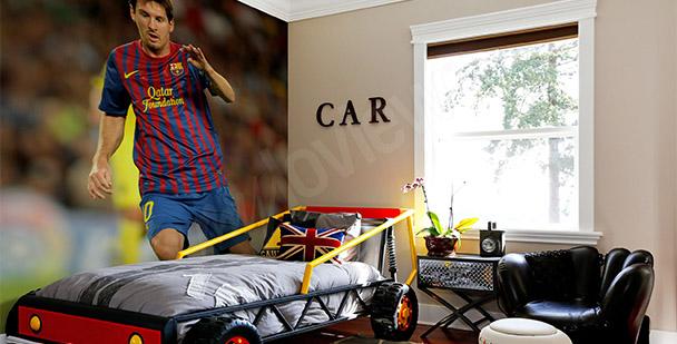 Fototapet med Leo Messi
