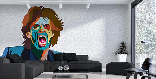 Fototapet Mick Jagger