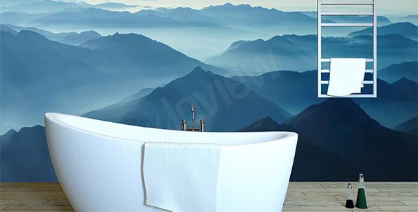 Fototapet minimalistiska berg