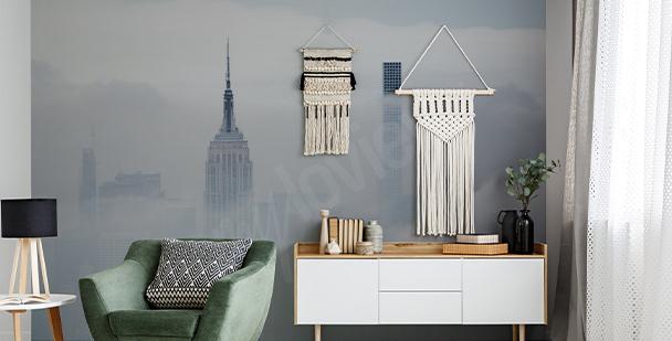 Fototapet New York i dimma