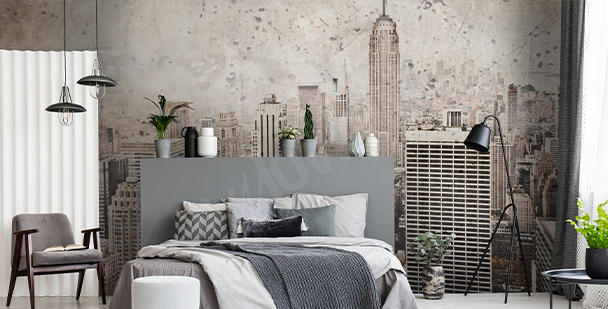 Fototapet New York i retrostil