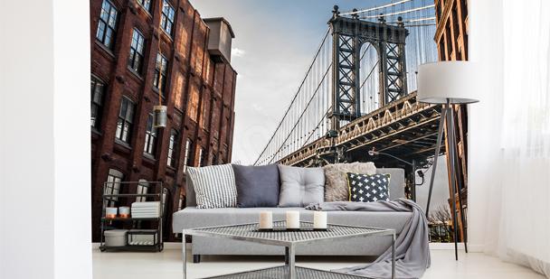 Fototapet New Yorks arkitektur