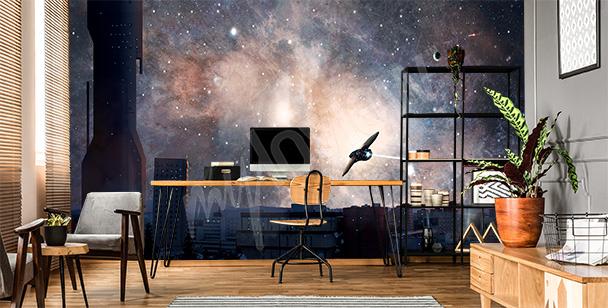 Fototapet rymd och galaxen