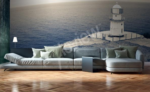 Fototapet stormigt hav