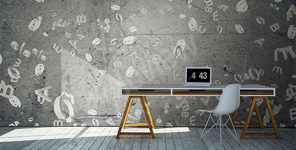 Fototapet till kontoret betong