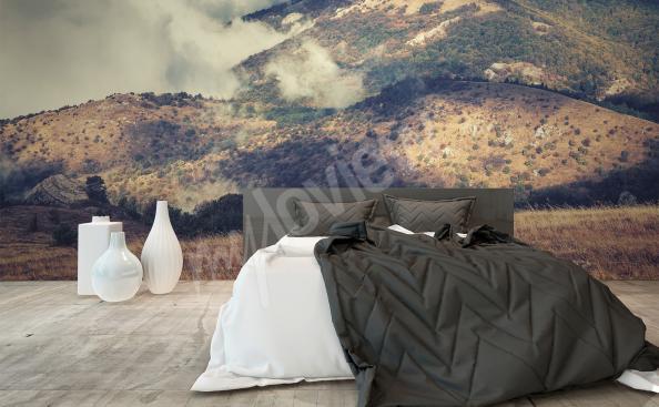Fototapet till sovrum landskap 3D