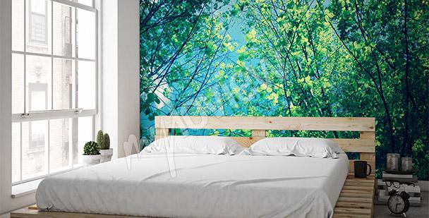 Fototapet träd till sovrummet