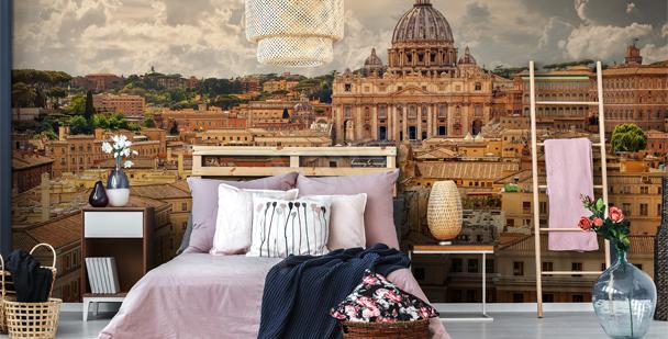 Fototapet Vatikanstatens arkitektur
