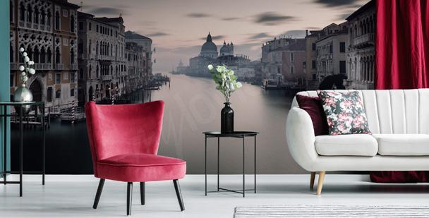 Fototapet Venedig i dimma
