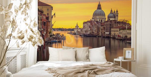 Fototapet Venedig till sovrummet