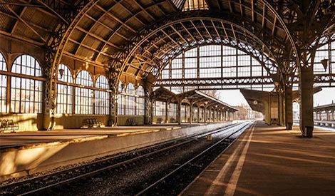 Järnvägsstationer