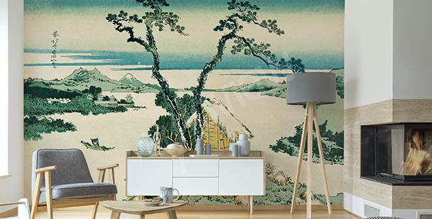 Orientalisk fototapet med Asien